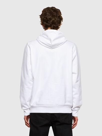 Diesel - S-GIRK-HOOD-SMALLOGO, White - Sweatshirts - Image 2