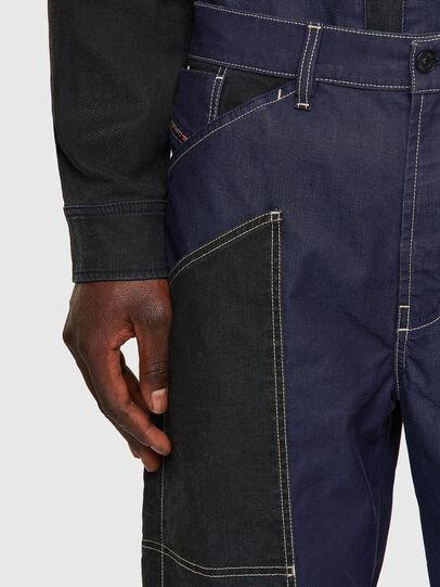 Diesel - D-Franky JoggJeans® 0EEAW, Azul Oscuro - Vaqueros - Image 4