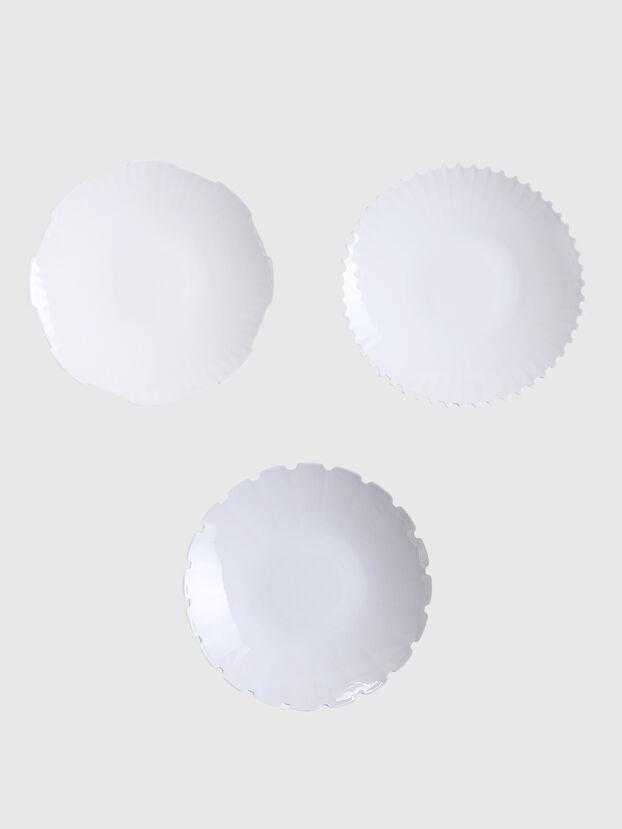 10914 MACHINE COLLEC, White - Plates