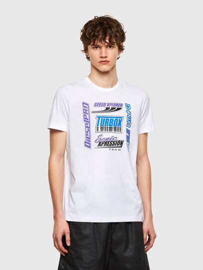 Diesel - T-DIEGOS-K38, White - T-Shirts - Image 1