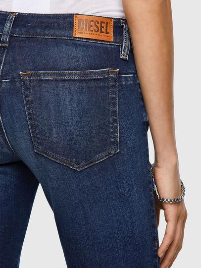 Diesel - D-Jevel Slim Jeans 09A30, Dark Blue - Jeans - Image 5