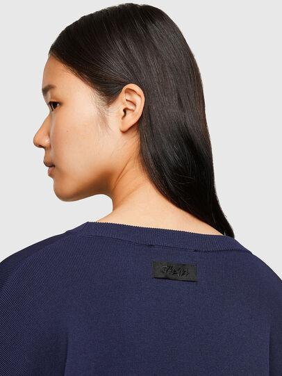 Diesel - M-AQUAMARINE, Blue - Sweaters - Image 4