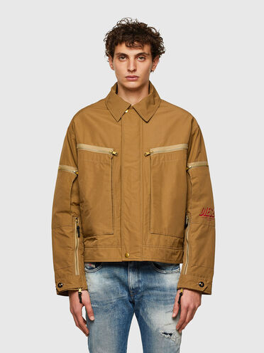 Green Label padded jacket