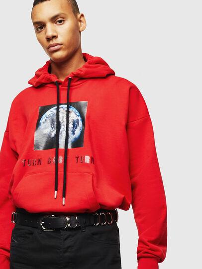 Diesel - S-ALBY-YA, Red - Sweatshirts - Image 5