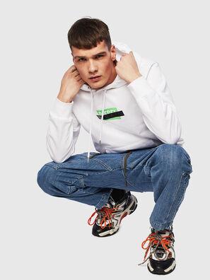 S-GIRK-HOOD-S1, White - Sweatshirts