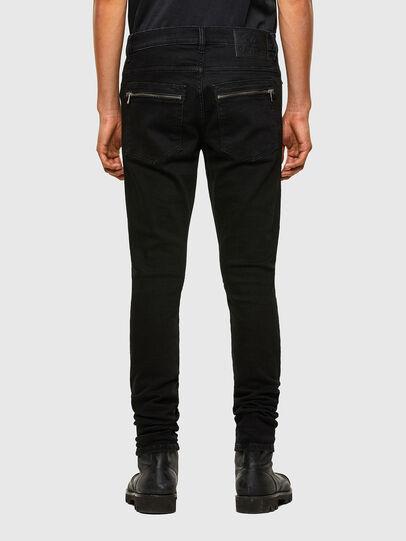 Diesel - D-Amny Skinny Jeans 009RB, Black/Dark Grey - Jeans - Image 2