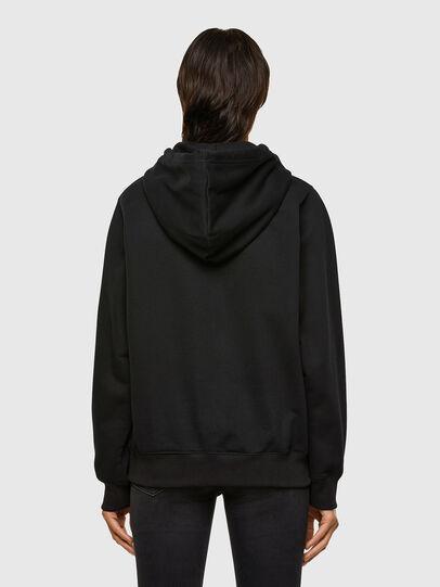 Diesel - F-ANG-HOOD-K23, Black - Sweatshirts - Image 2
