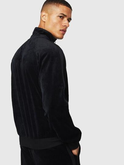 Diesel - UMLT-MAX-CZ, Black - Sweatshirts - Image 2