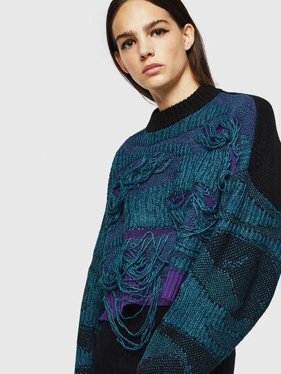 Diesel - M-KAM, Blue Marine - Sweaters - Image 3