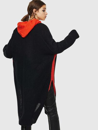 Diesel - M-SURI, Black/Red - Sweaters - Image 2