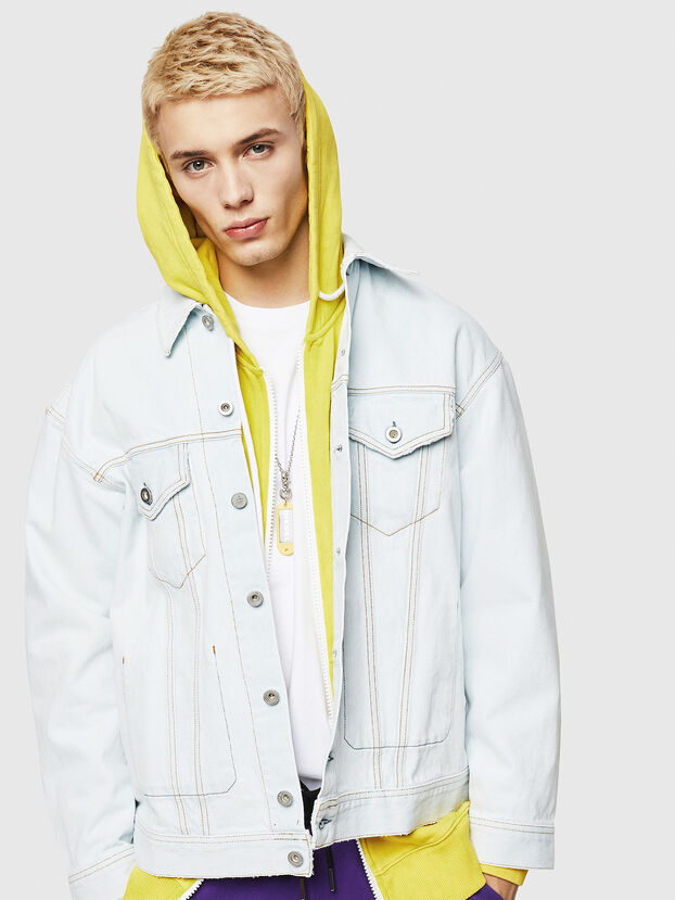 D-WANO, Light Blue - Denim Jackets
