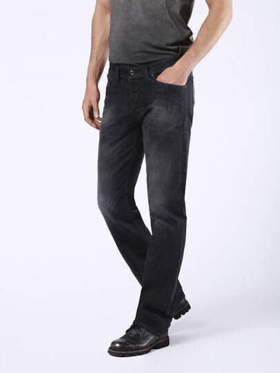 Diesel - Viker U0823, Black/Dark Grey - Jeans - Image 7