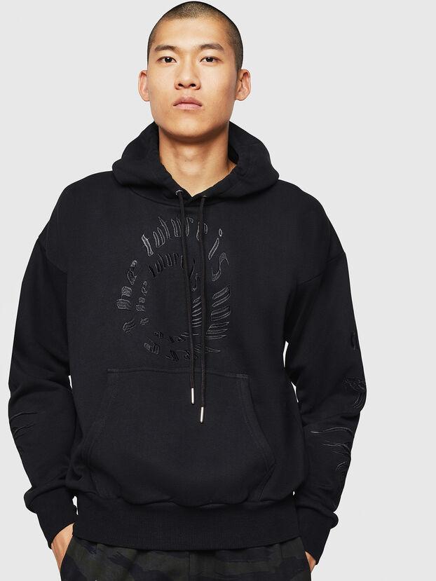 S-ALBY-B5, Black - Sweatshirts