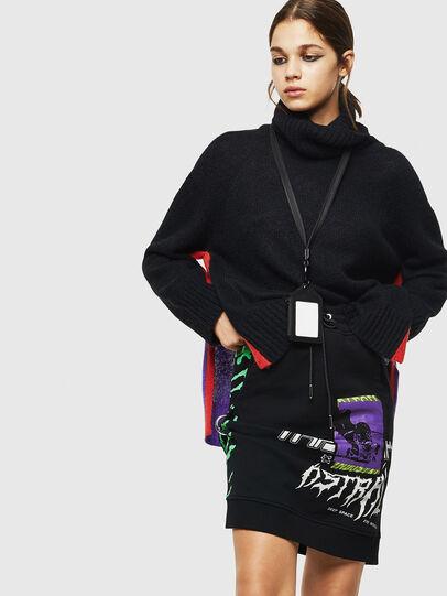 Diesel - O-NYUSHA-B, Black - Skirts - Image 3