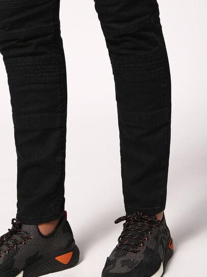 Diesel - Bakari JoggJeans 0678E, Black/Dark Grey - Jeans - Image 6