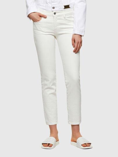 Diesel - D-Rifty Slim Jeans 009VU, White - Jeans - Image 1