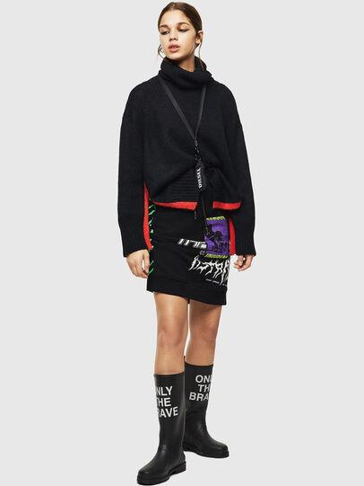 Diesel - O-NYUSHA-B, Black - Skirts - Image 6