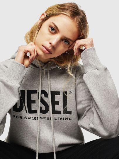 Diesel - S-GIR-HOOD-DIVISION-, Grey - Sweatshirts - Image 6