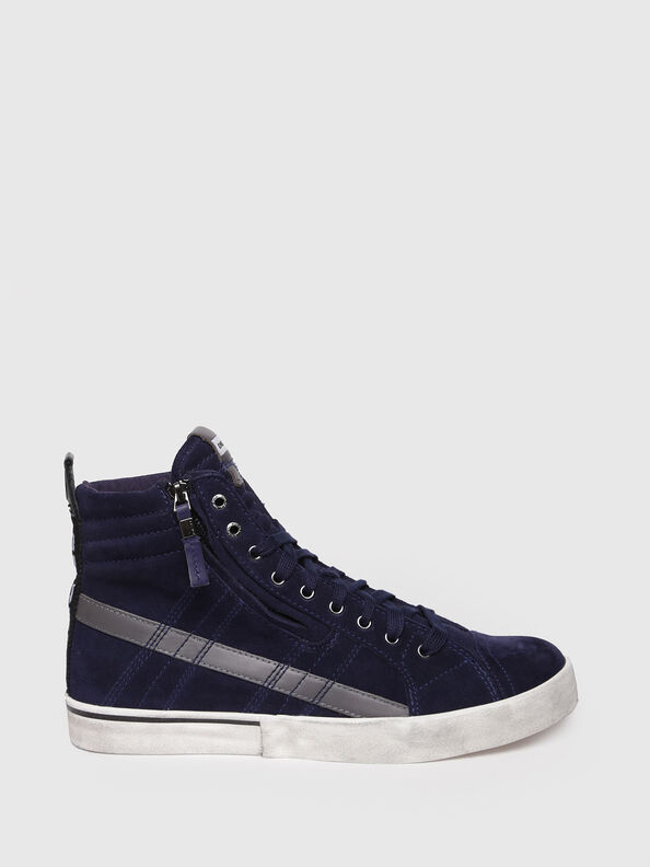 D-VELOWS MID LACE, Dark Blue - Sneakers
