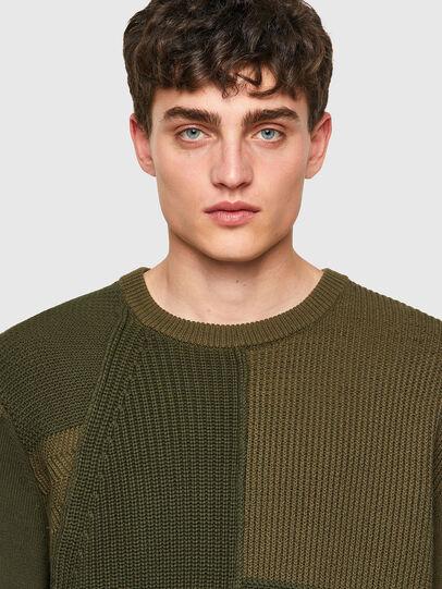 Diesel - K-YUKON, Military Green - Sweaters - Image 4
