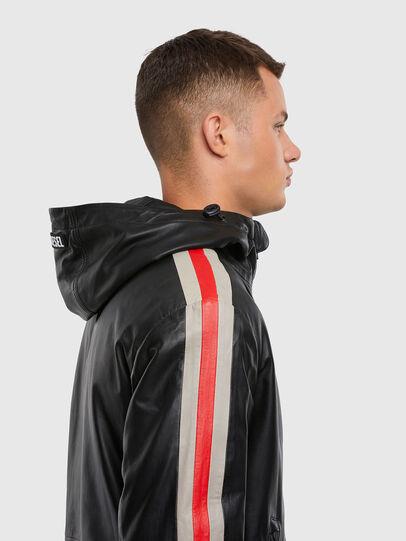 Diesel - L-MATHIAS, Black - Leather jackets - Image 3