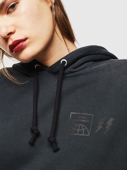Diesel - S-GIRK-HOOD-SUN, Black - Sweatshirts - Image 5