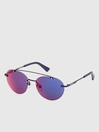 Diesel - DL0351, Blue - Sunglasses - Image 2