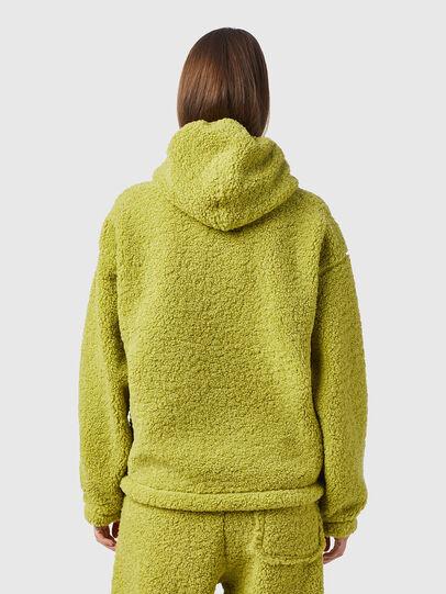 Diesel - S-UMMEREDDY, Yellow - Sweatshirts - Image 4
