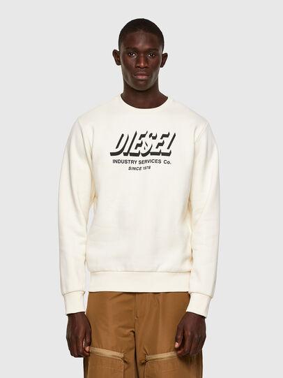 Diesel - S-GIRK-A74, White - Sweatshirts - Image 1