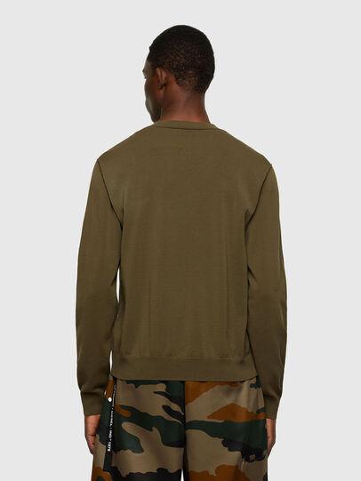 Diesel - K-NAVAJO, Military Green - Sweaters - Image 2