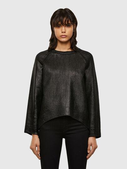 Diesel - M-NADYA, Black - Sweaters - Image 1
