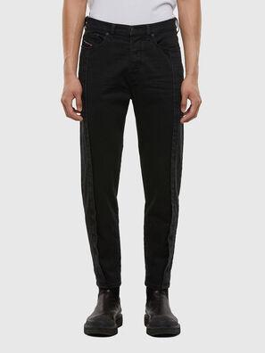 D-Vider 009LA, Black/Dark Grey - Jeans