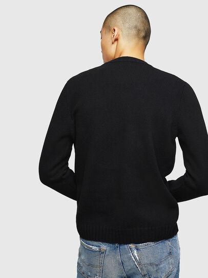 Diesel - K-CV-PATCH, Black - Sweaters - Image 2