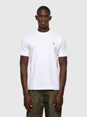 Monochrome T-Shirt with mohawk patch