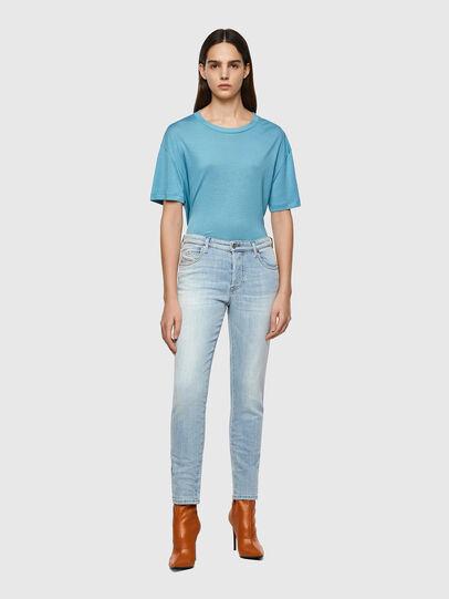 Diesel - BabhilaSlim Jeans 009ZZ, Light Blue - Jeans - Image 5