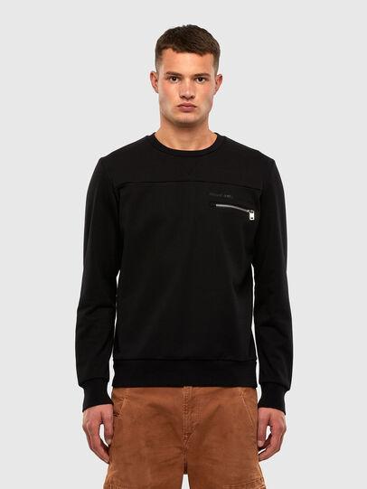 Diesel - S-CORINNE, Black - Sweatshirts - Image 1
