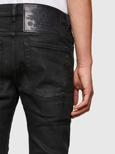 Diesel - D-Amny Skinny Jeans 009PZ, Black/Dark Grey - Jeans - Image 4