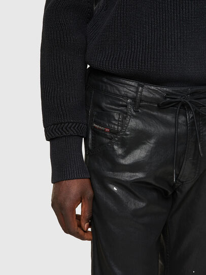 Diesel - Krooley JoggJeans® 0849R, Negro/Gris oscuro - Vaqueros - Image 4