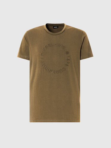 T-shirt with embossed Copyright logo