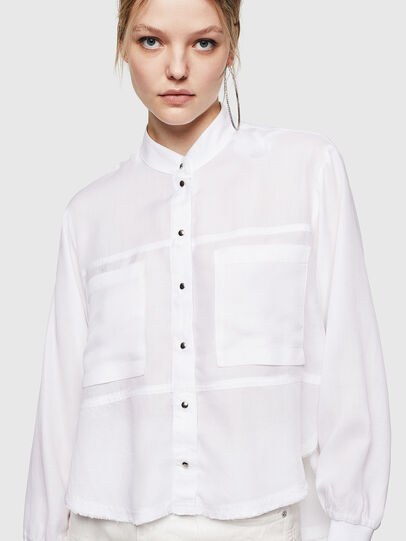 Diesel - C-SUPER-E, White - Shirts - Image 7