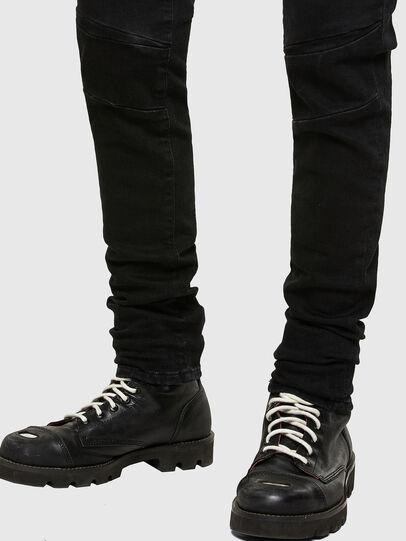 Diesel - D-Amny Skinny Jeans 009RB, Black/Dark Grey - Jeans - Image 5