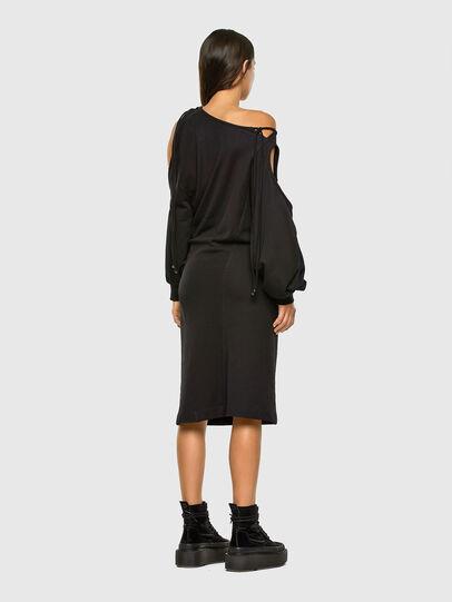 Diesel - D-REVERT, Black - Dresses - Image 8