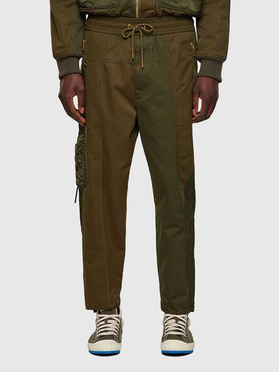 Diesel - P-BRIGGS, Verde Militar - Pantalones - Image 1