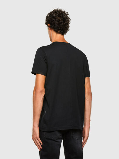 Diesel - T-DIUBBLE-N1, Black - T-Shirts - Image 2