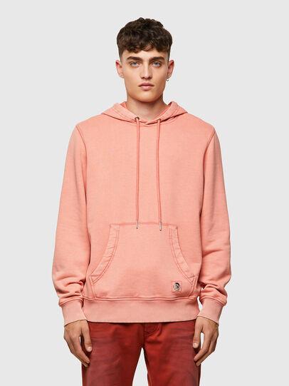 Diesel - S-GIRK-HOOD-MOHI-B1, Pink - Sweatshirts - Image 1