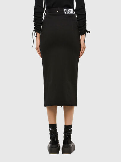 Diesel - O-SIA, Black - Skirts - Image 2