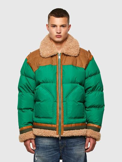 Diesel - W-EVAN-A, Green - Winter Jackets - Image 1