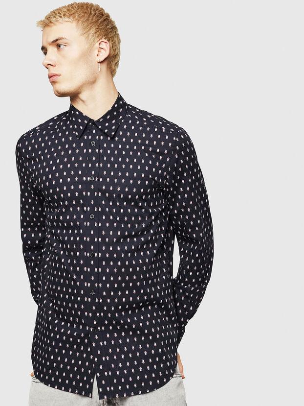 S-VEN-SKULL, Black - Shirts