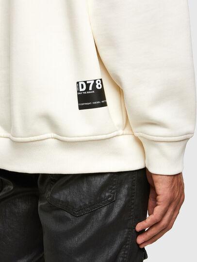 Diesel - S-UMMER-N74, White - Sweatshirts - Image 4