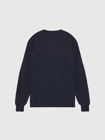 Diesel - S-GIR-DIVISION-LOGO, Dark Blue - Sweatshirts - Image 2